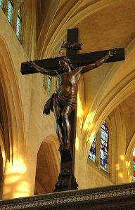 Crucifixo - Igreja de Saint-Etienne-du-Mont