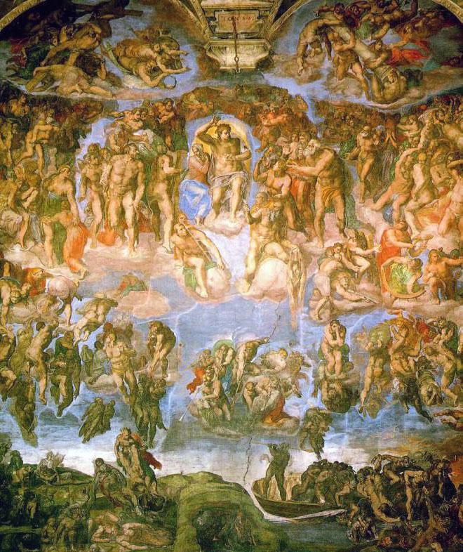 Capela Cistina - Julgamento Final