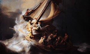 Tempestade no Mar da Galiléia - Confiança em Deus